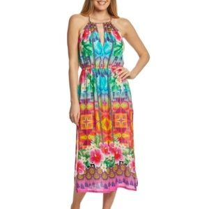 "Nanette Lepore ""Playa Nayarit"" midi dress, S, NWT"